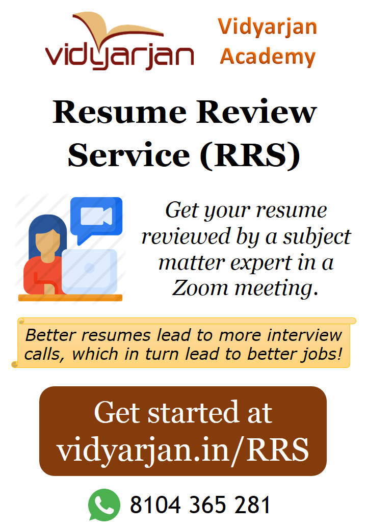 Resume Review Service